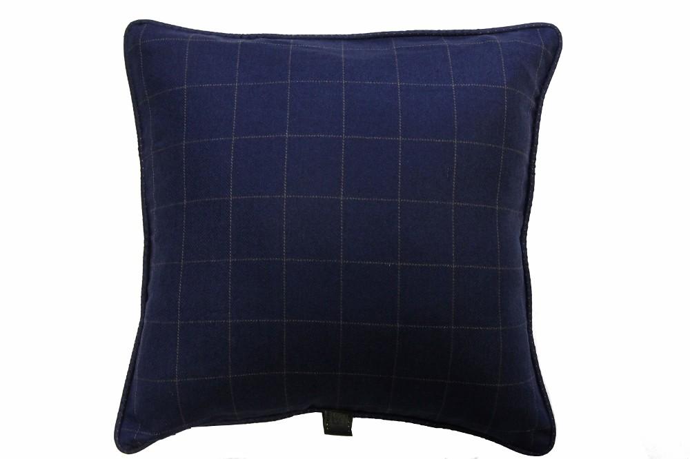 Blue with Brown Windowpane