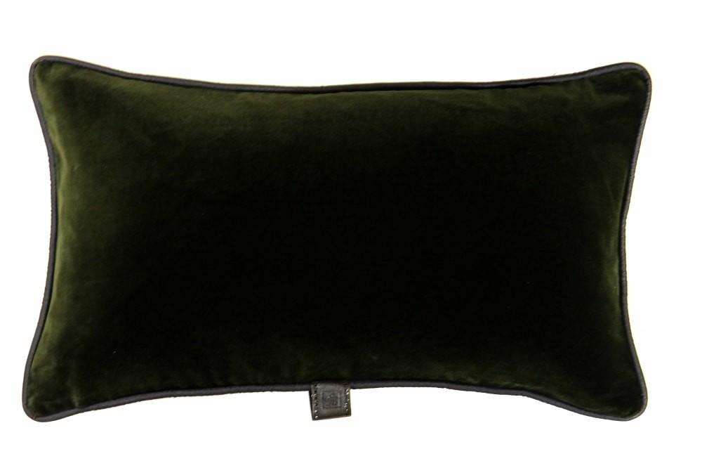 Loden Velvet Cushion