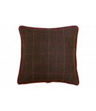 Brown Plaid / Brown Velvet