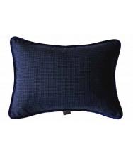 Dark Blue Dogtooth / Blue Velvet