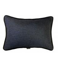 Blue Grey Weave / Black Velvet